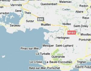 Morbihan 56, Loire Atlantique , 44